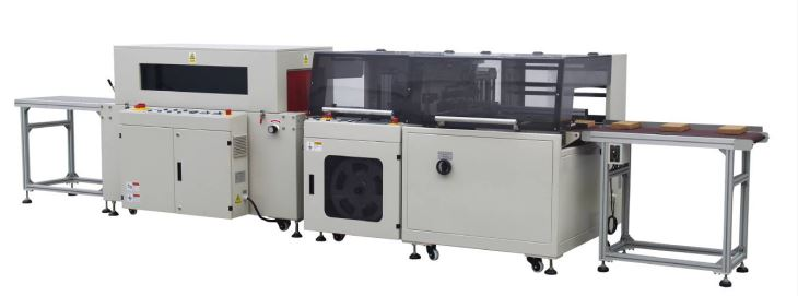 Fully automatic high speed side sealing heat shrink packaging machine